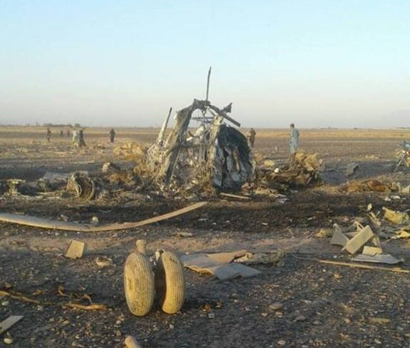 5 Dead in Afghan Military Helicopter Crash