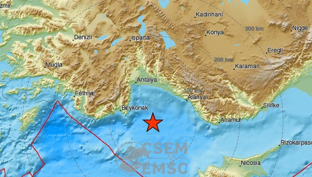 Turkey earthquake: 5.2-magnitude quake hits off the coast of Antalya