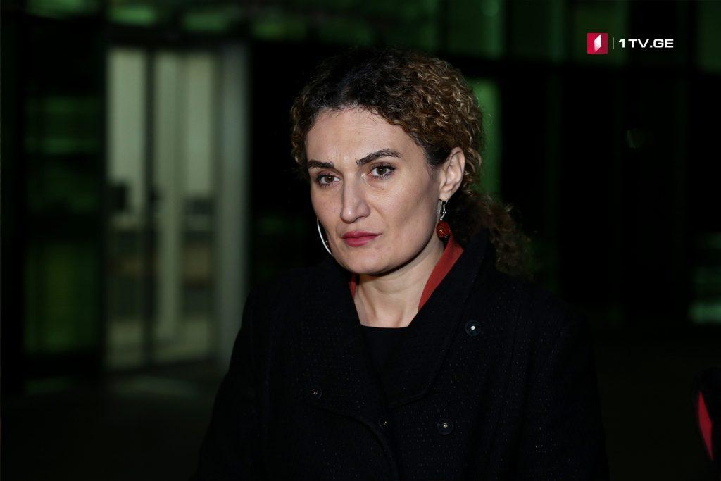 Ketevan Tsixelaşvili - Arçil Tatunaşvilinin işi üzrə mütthimlərin qırmızı xətt ilə axtarışa verilməsi vacib addımdır