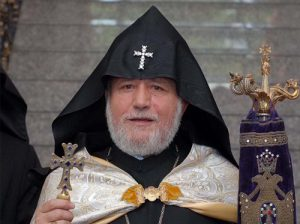 Catholicos Garegin II abstains from answering about his resignation