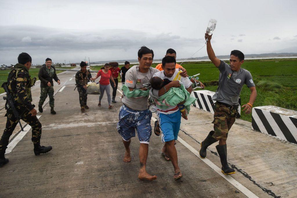 """ფილიპინებში სუპერტაიფუნ """"მანჯუთის"""" შედეგად დაღუპულთა რიცხვი 14-მდე გაიზარდა"""