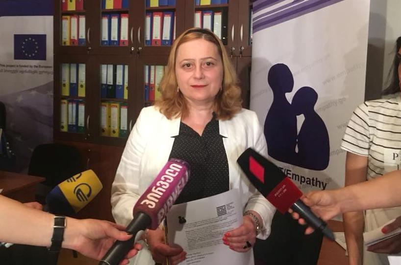 Мариам Джишкариани - В список Отхозория-Татунашвили должны быть добавлены фамилии высокопоставленных де-факто чиновников и властей России