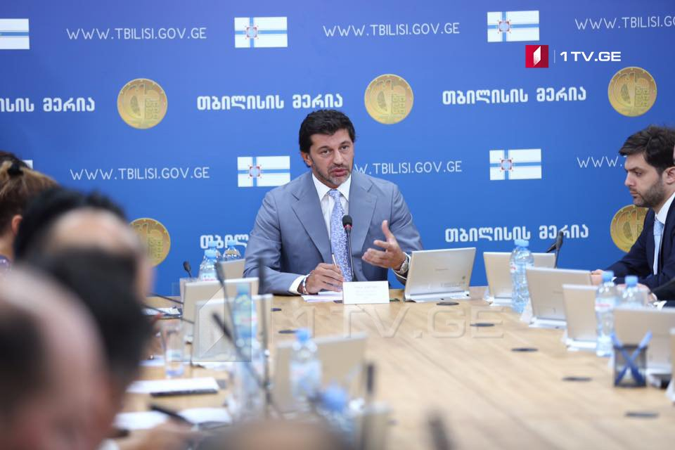 Каха Каладзе приносит извинения населению за созданный дискомфорт на дорогах и заявляет, что основыне работы завершатся 15 сентября