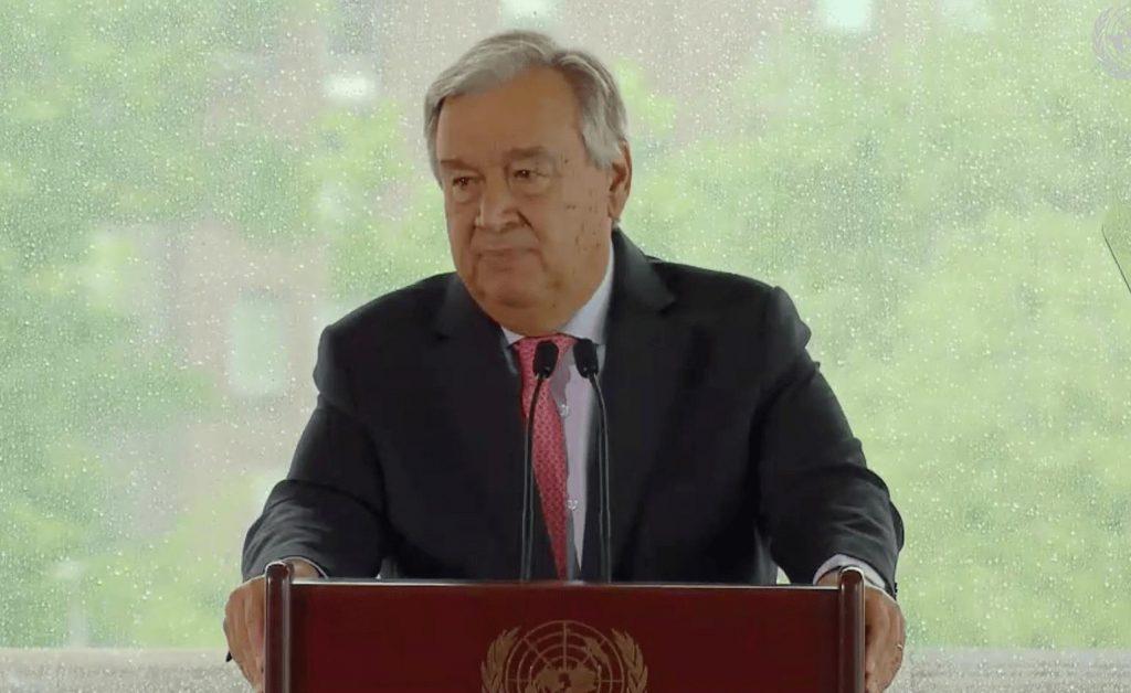 Генсек ООН - Если мир не изменит курс, избежать изменения климата не удастся