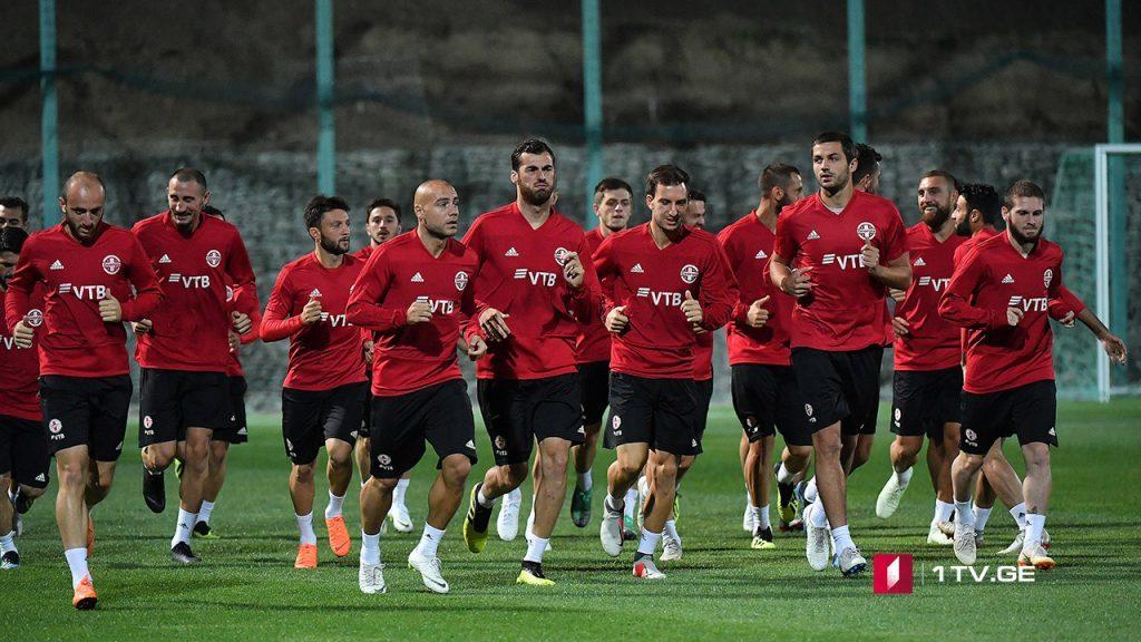 Gürcüstanın futbol yığması bu gün Latviya ilə qarşılaşacaq