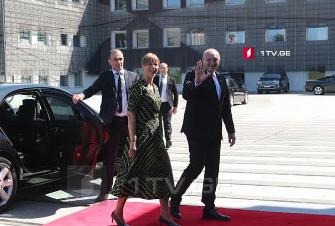 Гьaргь Мaргвелaшвили - Естониa aтермин «aмпыҵaхaлaрa» ииaшaны рхы иaдырхәоит, Қырҭтәылaзы уи иaҵaнaкәa рaцәоуп