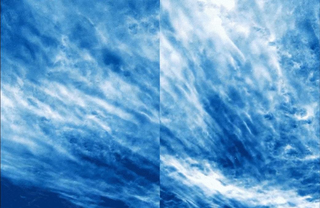 NASA-მ დედამიწის ატმოსფეროში უიშვიათესი ტიპის ღრუბლები გადაიღო