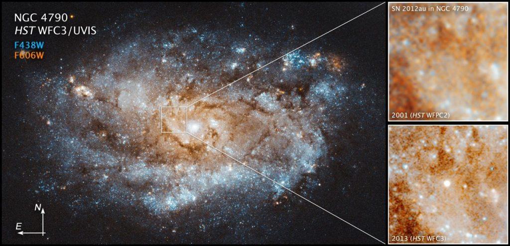 ასტრონომები ვარსკვლავის აფეთქებასა და ახალი ვარსკვლავის დაბადებას დააკვირდნენ