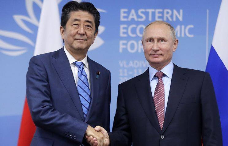 Վլադիմիր Պուտինը Ճապոնիայի վարչապետին առաջարկել է կնքել խաղաղարար պայմանագիր