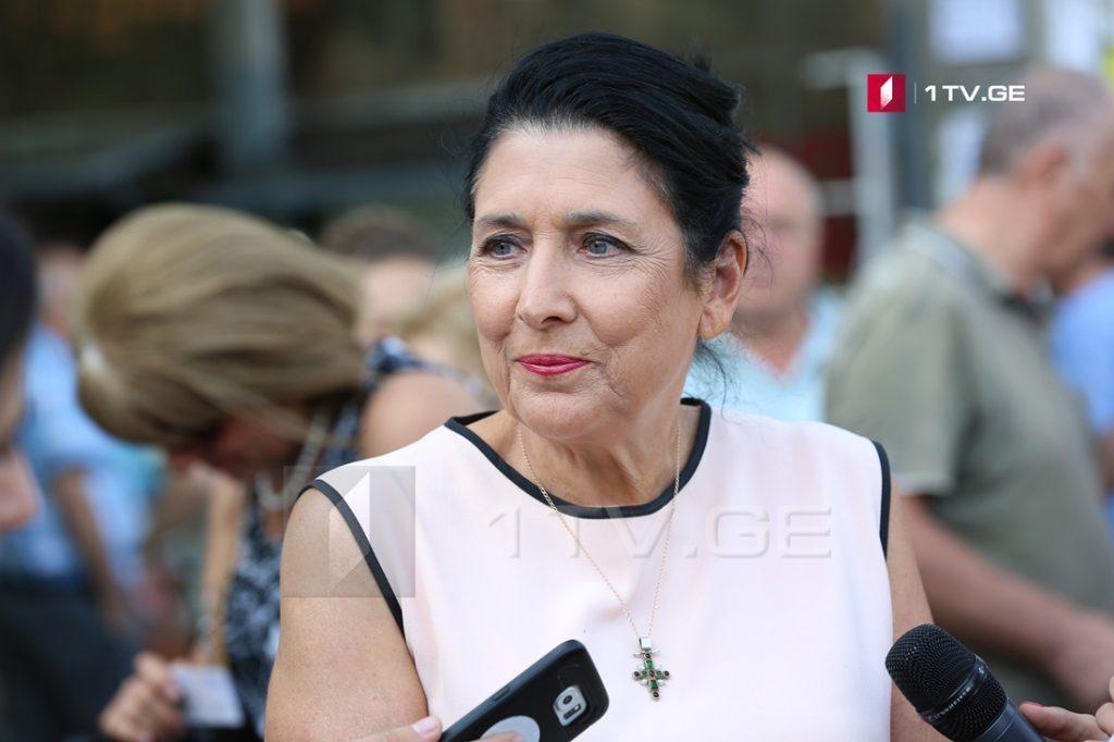 Саломе Зурабишвили - Я буду мостом между населением и властью, а не очагом конфронтаций