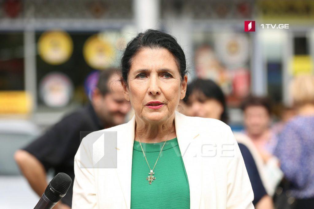 Саломе Зурабишвили - По поводу марихуаны обществу должна быть предоставлена правильная информация и я буду во главе данной информационной кампании