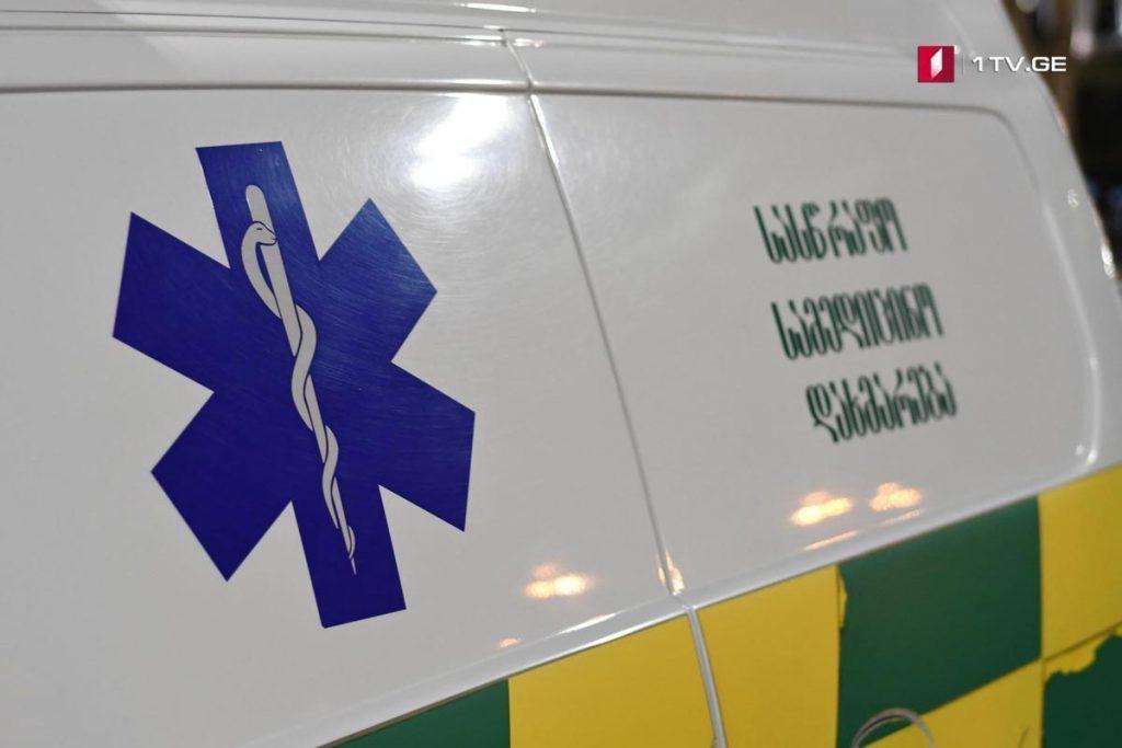 Малолетний ребенок упал со второго этажа в селе Мтисдзири Гардабанского района