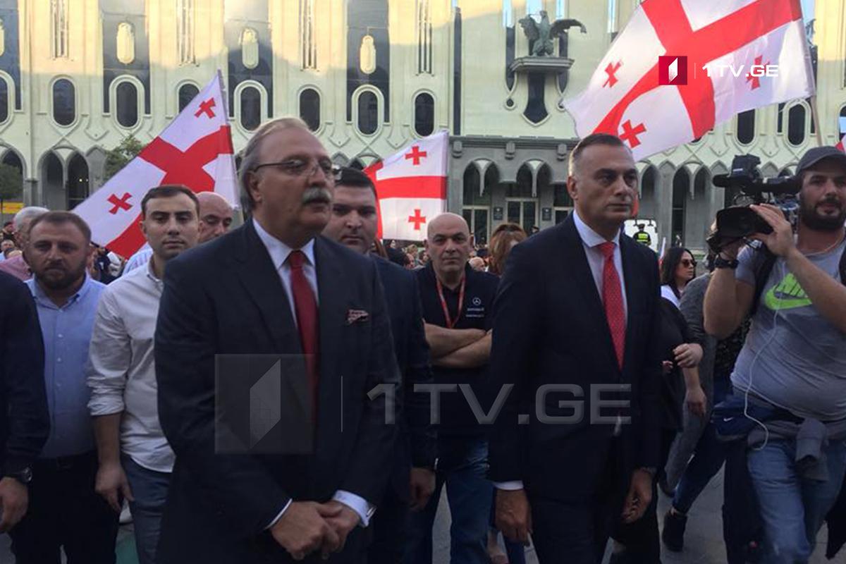 """-""""Сила в единстве"""" Григол Вашадзе !-28 октября в Тбилиси выборы Президента"""