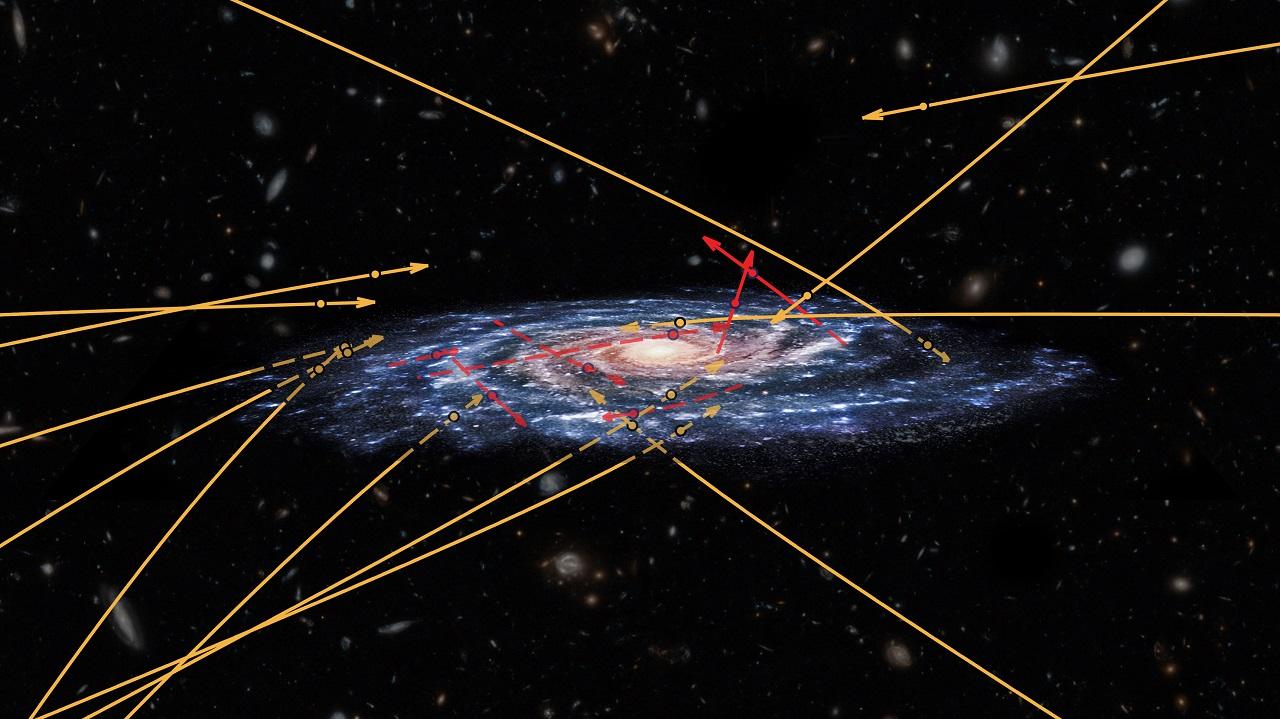 აღმოჩენილია სხვა გალაქტიკებიდან ირმის ნახტომისკენ მომავალი მაღალსიჩქარიანი ვარსკვლავები