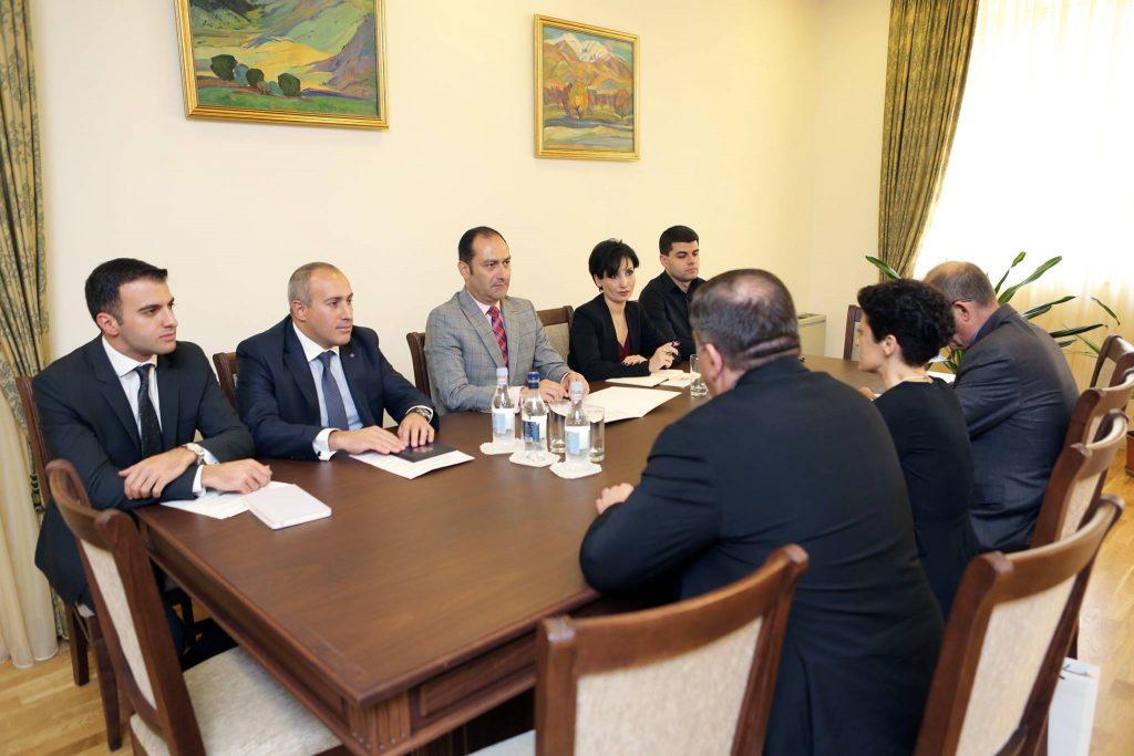 Тея Цулукиани пригласила министра юстиции Армении в Грузию, на открытие дома юстиции в Ахалкалаки