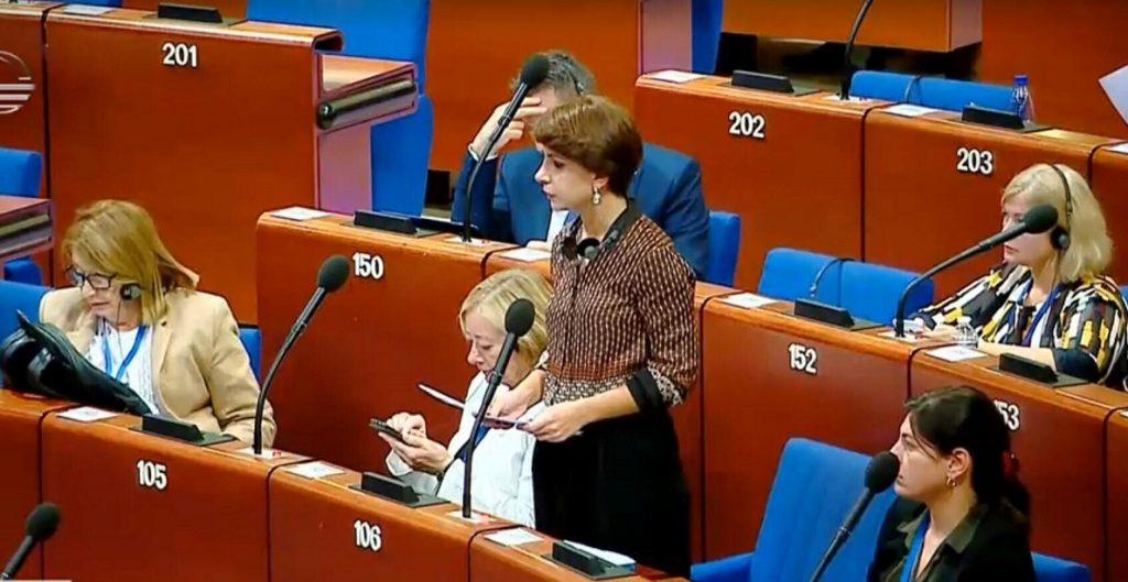 თამარ ჩუგოშვილი - რუსეთი უნდა დარჩეს ევროსაბჭოში, რათა მის წინააღმდეგ სტრასბურგის სასამართლოს, როგორც მექანიზმის გამოყენება შეგვეძლოს