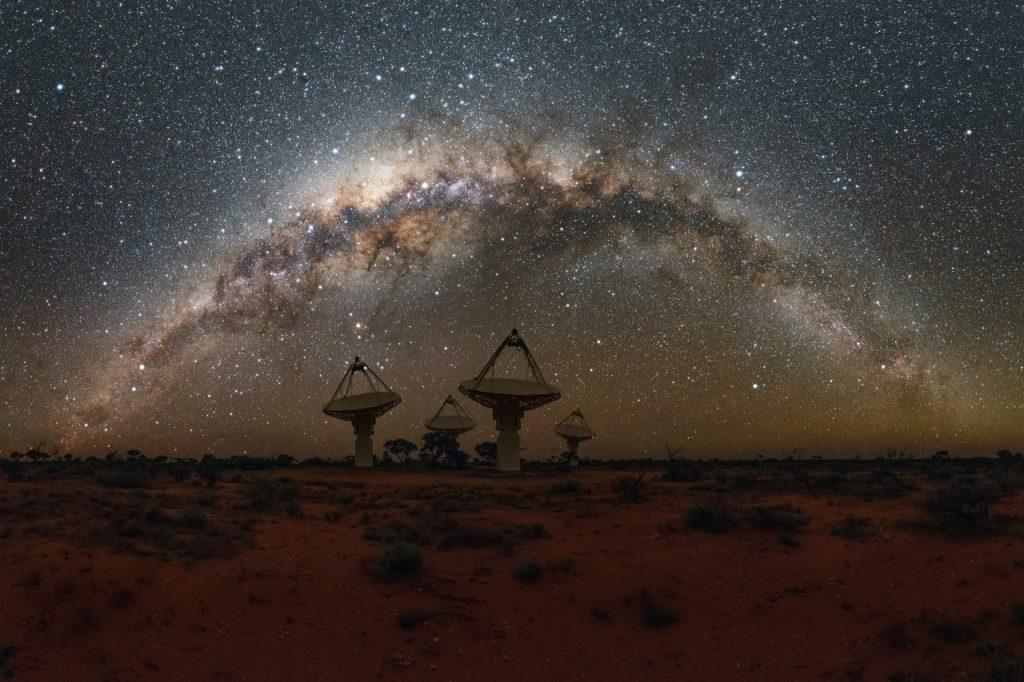 ავსტრალიურმა ტელესკოპმა სამყაროს მეორე მხრიდან მოსული 20 იდუმალი სიგნალი დააფიქსირა