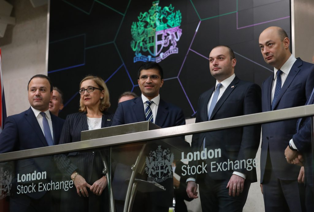 Today is dedicated to Georgia at the London Stock Exchange