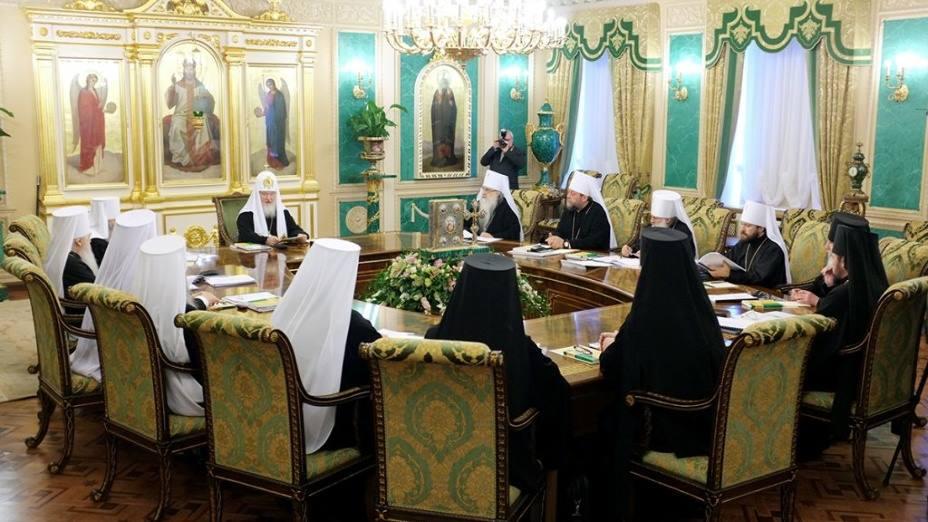 რუსეთის მართლმადიდებელი ეკლესიის სინოდმა კონსტანტინოპოლთან ევქარისტიული კავშირი სრულად გაწყვიტა