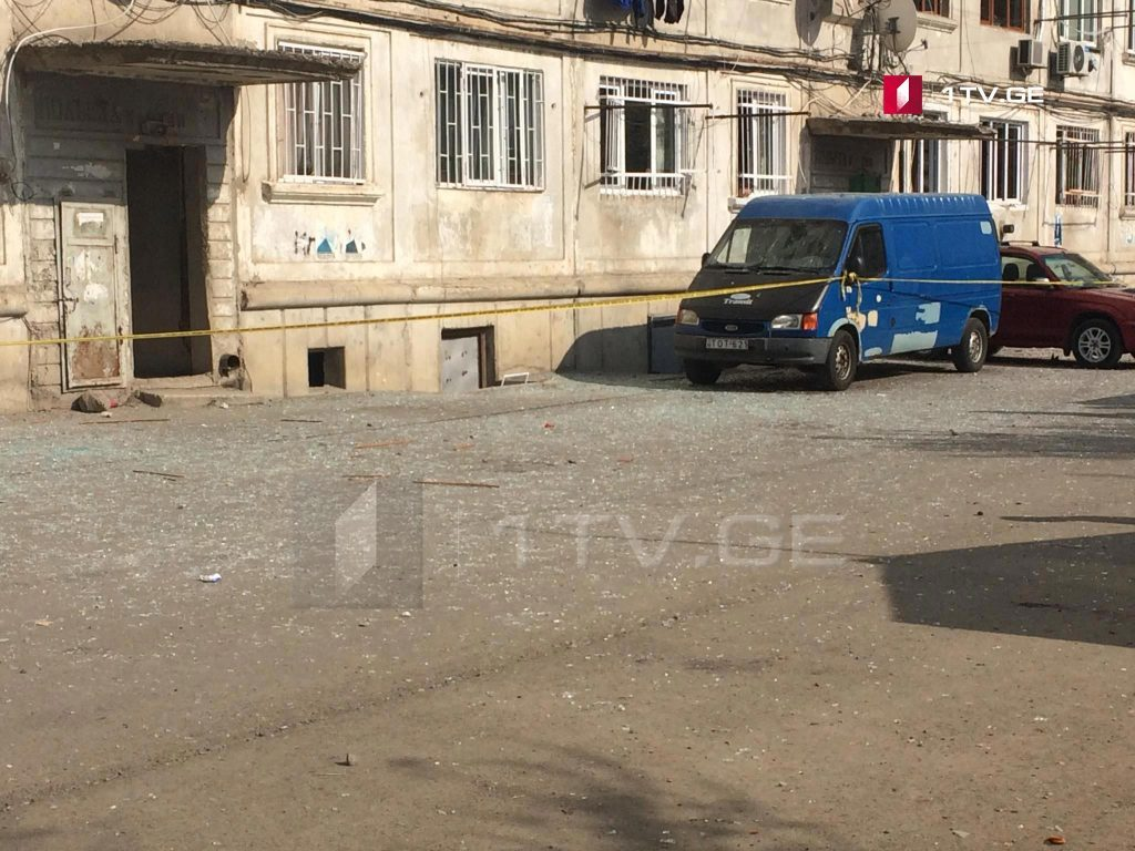 12 people  injured as a result of oxygen gallon explosion in Rustavi