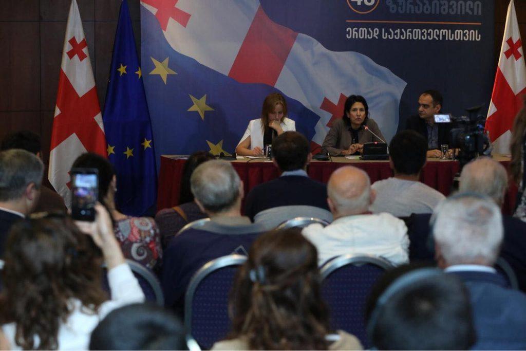 Саломе Зурабишвили – Этнические меньшинства должны пользоваться всеми программами, например, отправим молодежь учиться за границу