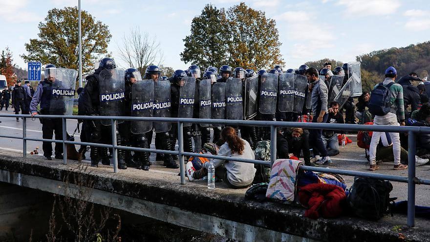 ბოსნია და ჰერცეგოვინას საზღვარზე მიგრანტებსა და ხორვატ სამართალდამცველებს შორის შეტაკება მოხდა