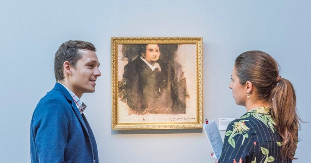 კრისტის აუქციონზე ხელოვნური ინტელექტის მიერ შექმნილი ნახატი 432 ათას  დოლარად გაიყიდა