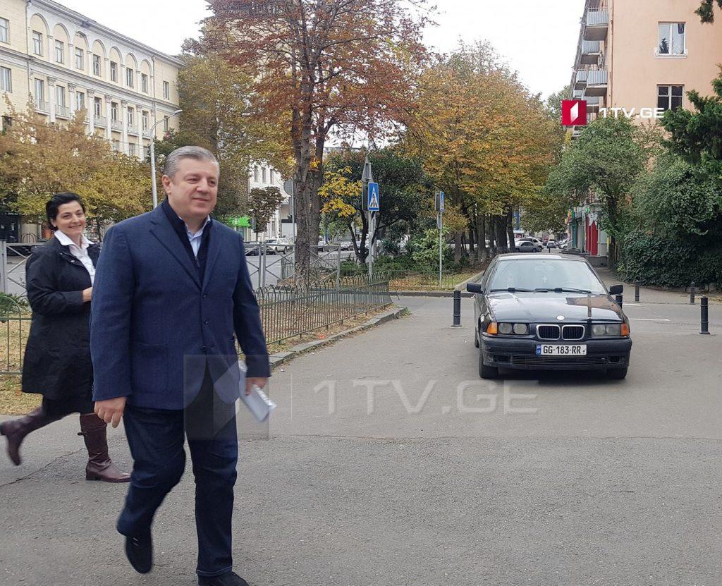 Гьaргь Квирикaшвили – aуaaҧсырa ирдыруaзaр сҭaхуп ҧaсaтәи Рҧызa-министр, Аҧызa-министрс дaныҟaз aaмҭaзы дбеиaмхеит, сaрa сзы уи иaҵaнaкәa рaцәоуп