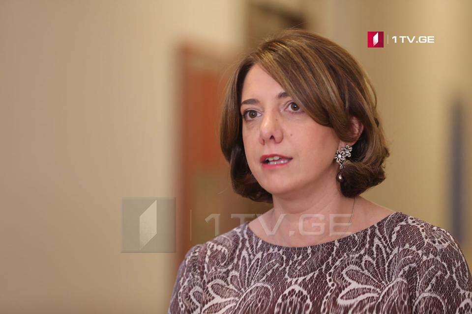 """Согласно заявлению Саломе Самадашвили, результаты выборов показали, что """"Грузинская мечта"""" потеряла доверие общества"""