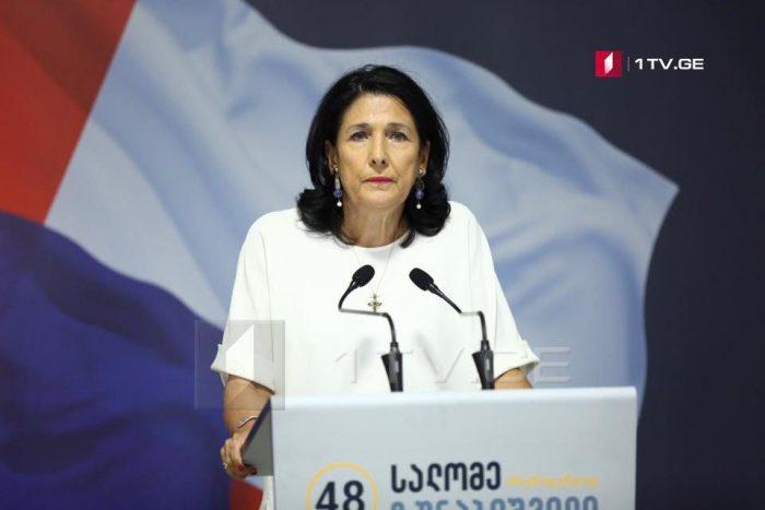 Саломе Зурабишвили подтвердила, что не планирует входить в авлабарский дворец и резиденция президента будет на улице Атонели