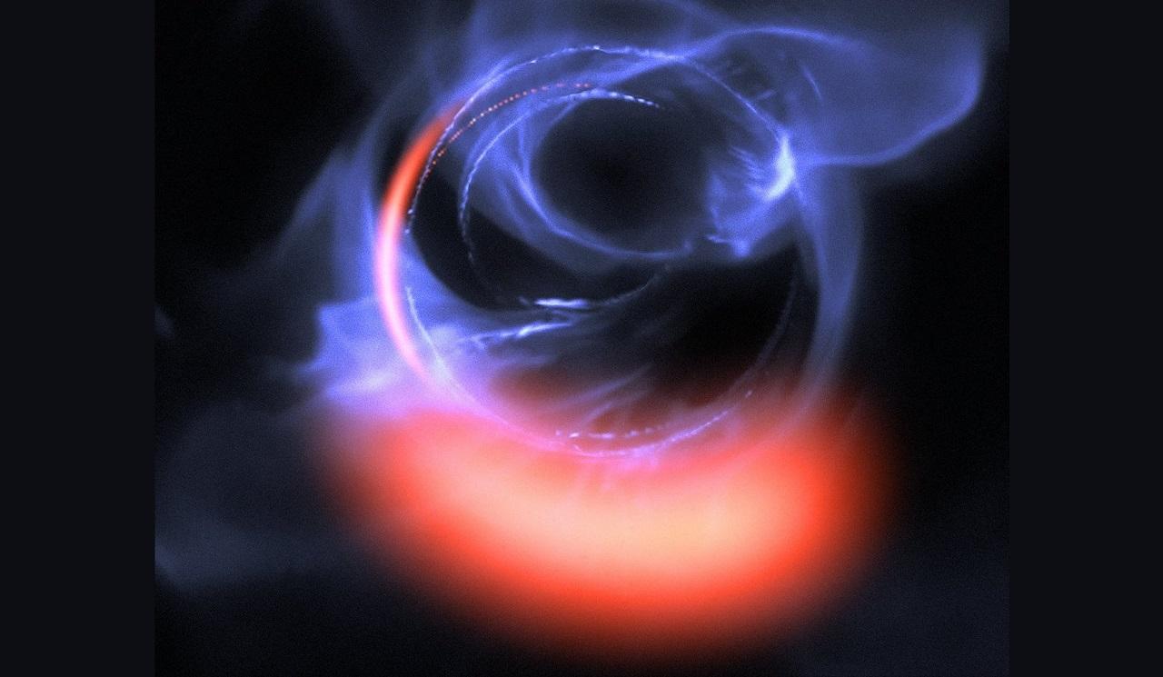 ასტრონომები გიგანტურ შავ ხვრელთან ძალიან ახლოს მოძრავ მატერიას დეტალურად დააკვირდნენ - პირველად ისტორიაში