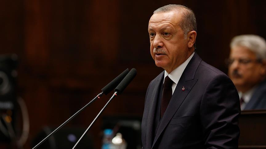 Ռեջեփ Թայիփ Էրդողանը հայտարարում է, որ Թուրքիան ահաբեկչության դեմ պայքարում հասել է լուրջ առաջընթացի