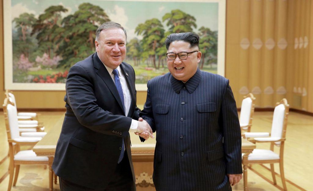 Встреча Майка Помпео с представителями КНДР отложена