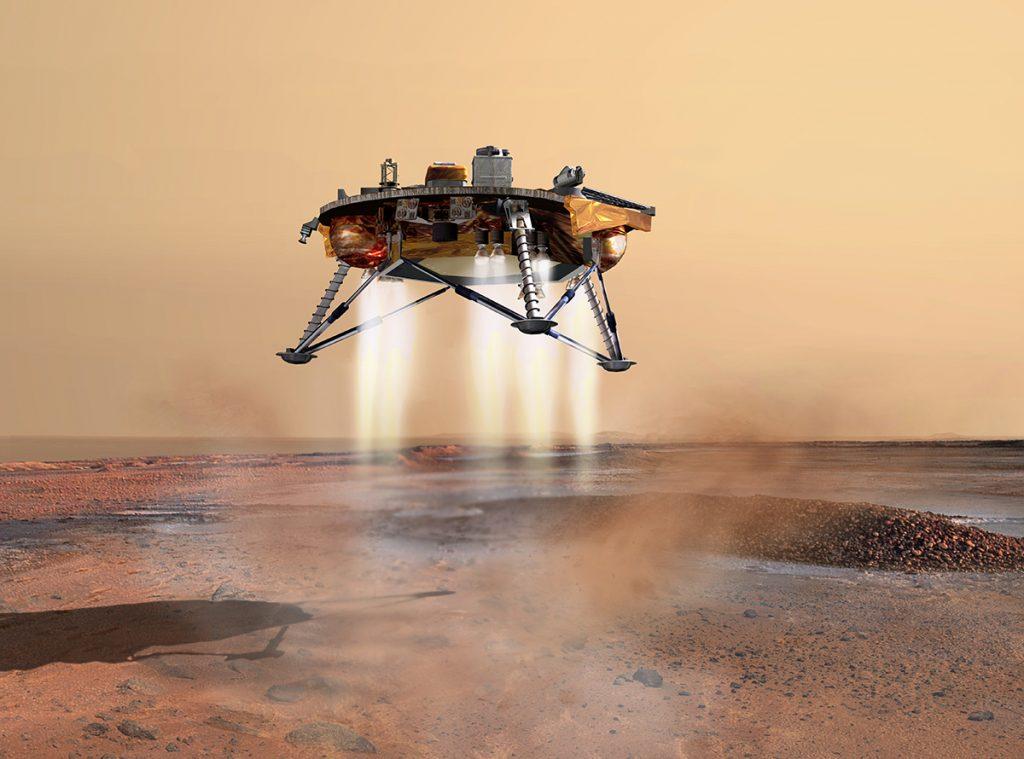 ტერორის 6 წუთი — როგორ დაჯდება NASA-ს ხომალდი InSight-ი მარსზე 26 ნოემბერს