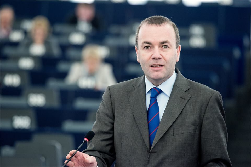 """""""ევროპის სახალხო პარტიამ"""" ევროკომისიის პრეზიდენტობის კანდიდატადმანფრედ ვებერი აირჩია"""