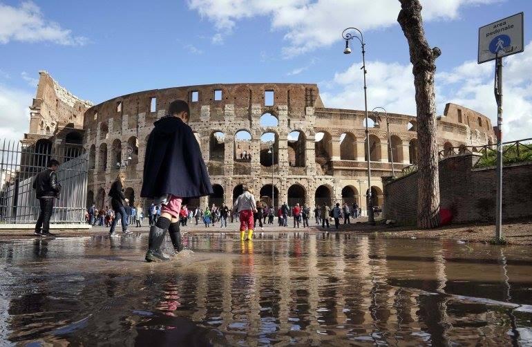 Իտալիայի 11 նահանգներում վատ եղանակի պատճառով հայտարարվել է արտակարգ դրություն