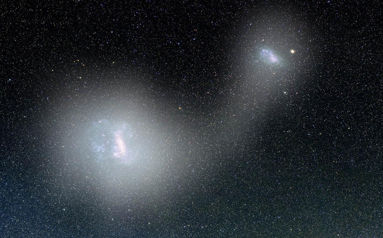 დავითისა და გოლიათის ულმობელი ბრძოლა მეზობელ გალაქტიკებს შორის