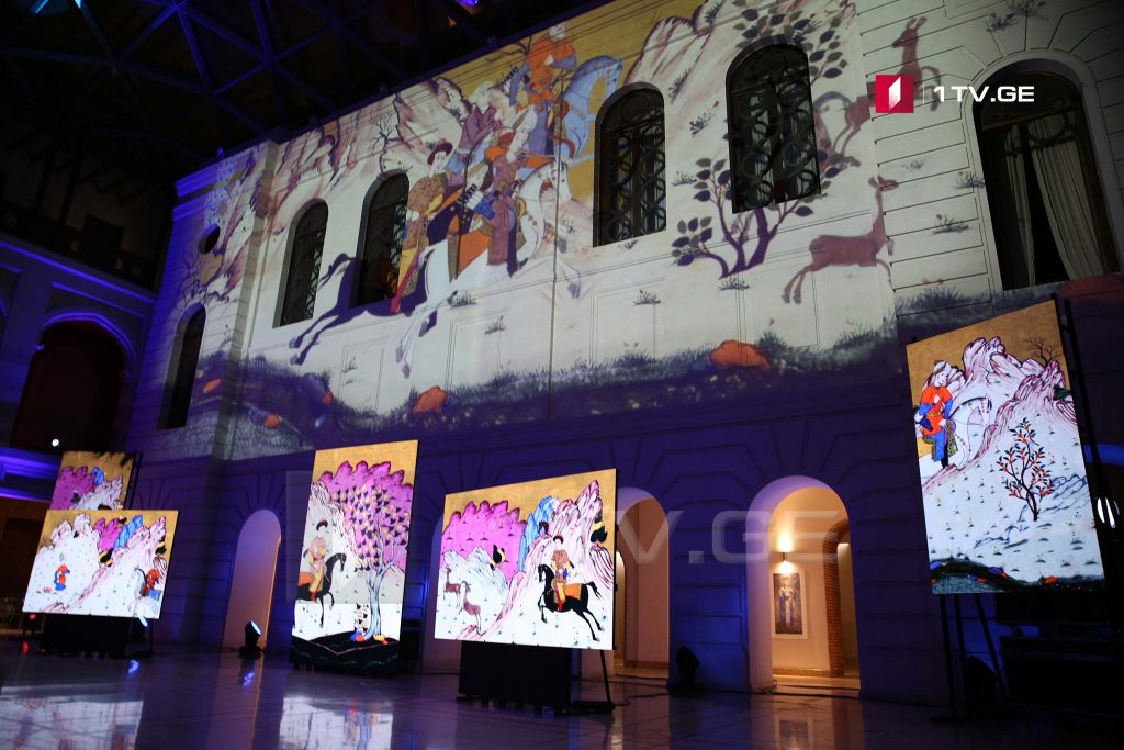 ხელნაწერთა ეროვნული ცენტრის ფონდებში დაცული კოლექციების 3D ინსტალაციის პრეზენტაცია გაიმართა [ფოტო]