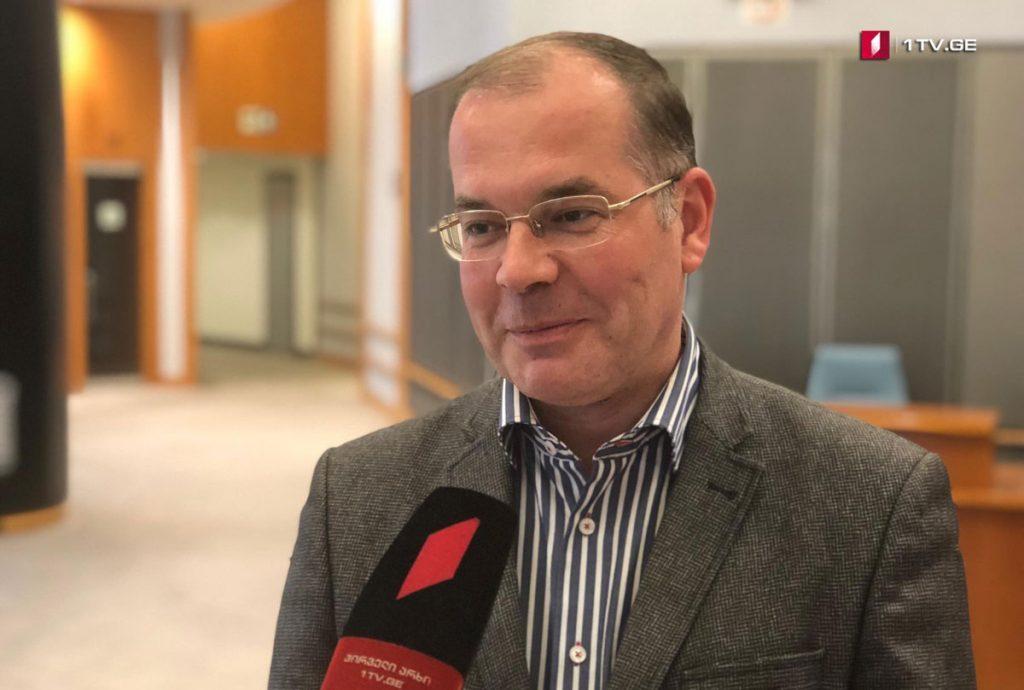 Андрес Мамыкинс - В Европарламенте Грузия пользуется большой поддержкой, это очень важно