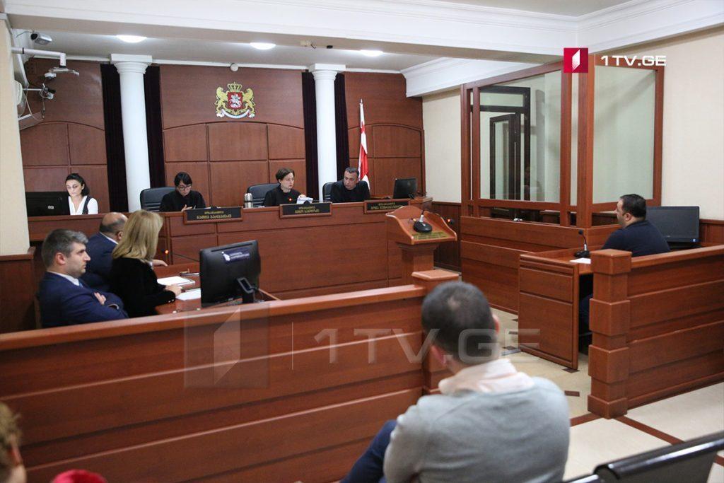Апелляционный суд оставил в силе решение суда в отношении Бачо Ахалая и Николоза Дзимцеишвили по делу о пытках Серго Тетрадзе