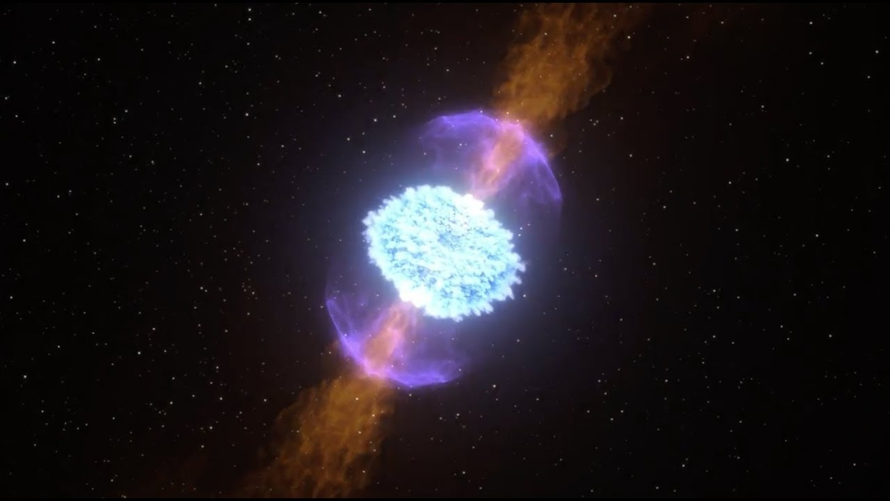 ნეიტრონულ ვარსკვლავთა ცნობილი შეჯახების შედეგად ჰიპერმასიური მაგნეტარი წარმოიქმნა - ახალი კვლევა