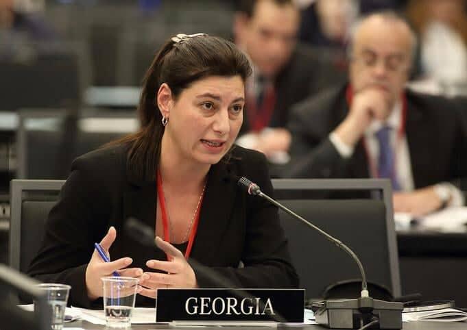 Софо Кацарава – Парламентская ассамблея НАТО призывает страны-члены к укреплению сотрудничества с Грузией для того, чтобы справиться с угрозами со стороны России