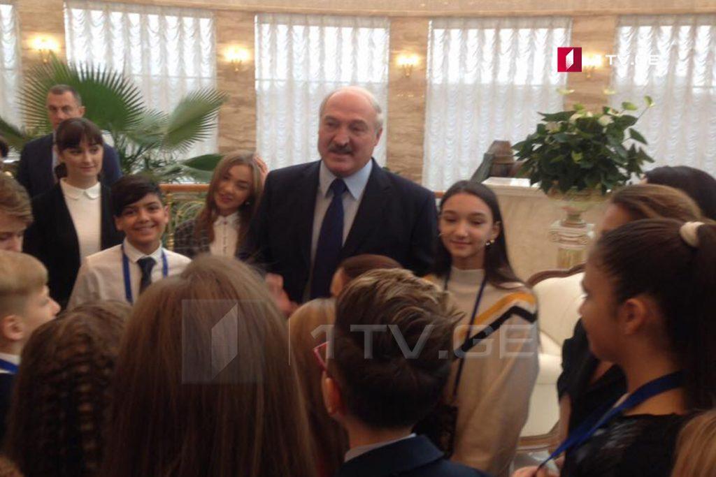 Президент Беларуси принял участников «Детского Евровидения»