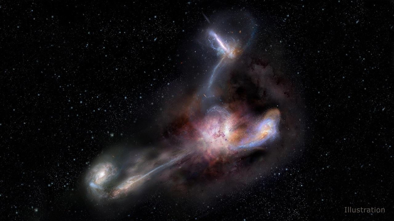 სამყაროს ყველაზე კაშკაშა გალაქტიკა დიდ საიდუმლოს მალავს - ახალი კვლევა