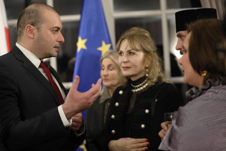 პრემიერ-მინისტრი ბრიუსელში ქართულ დიასპორას შეხვდა