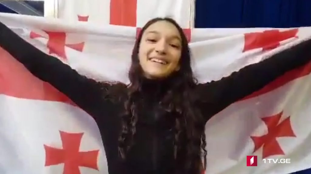 Georgian contender of JESC calls on TV viewers for support