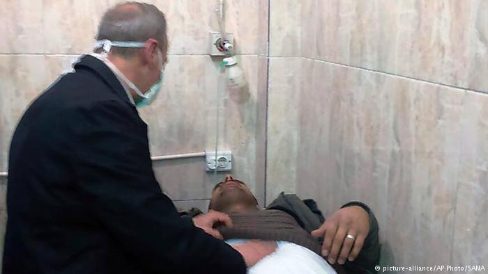 სირიის სახელმწიფო მედია - ალეპოში მებრძოლებმა ქიმიური იარაღი გამოიყენეს