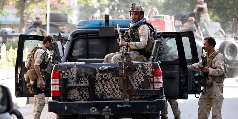 ქაბულში შეიარაღებული პირები ბრიტანეთის უსაფრთხოების სამსახურის კერძო კომპანიას თავს დაესხნენ