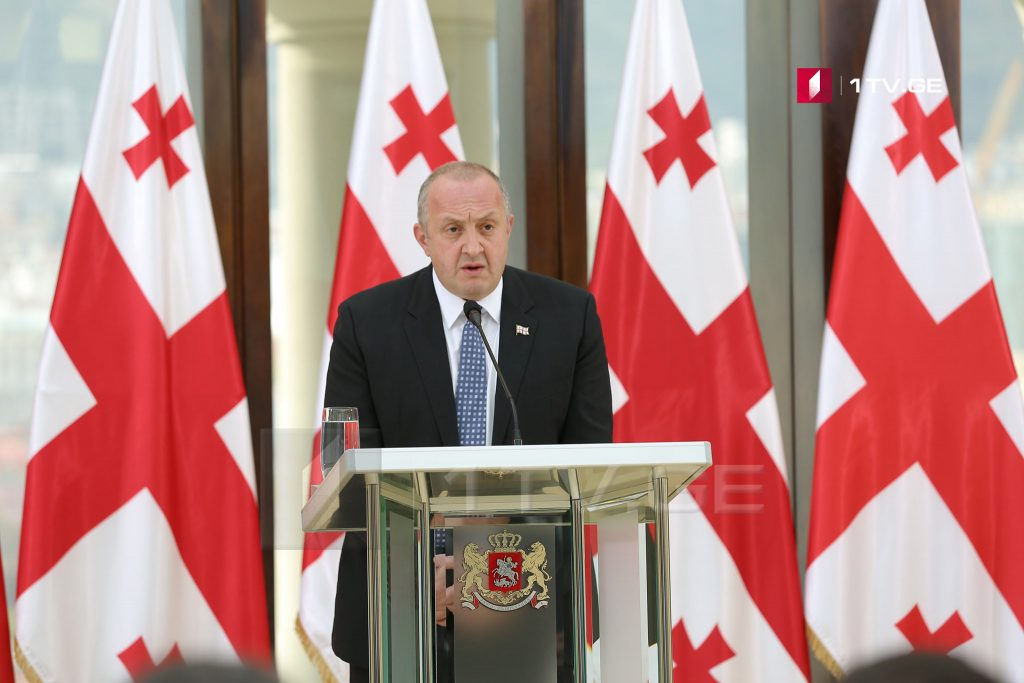 Георгий Маргвелашвили – Высокая активность на выборах показала, что избрание президента для общества является принципиальным и важным опытом исполнения гражданского долга
