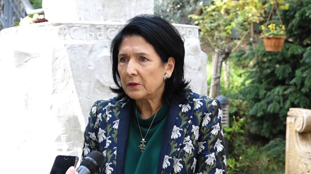Саломе Зурабишвили готова встретиться с Георгием Маргвелашвили